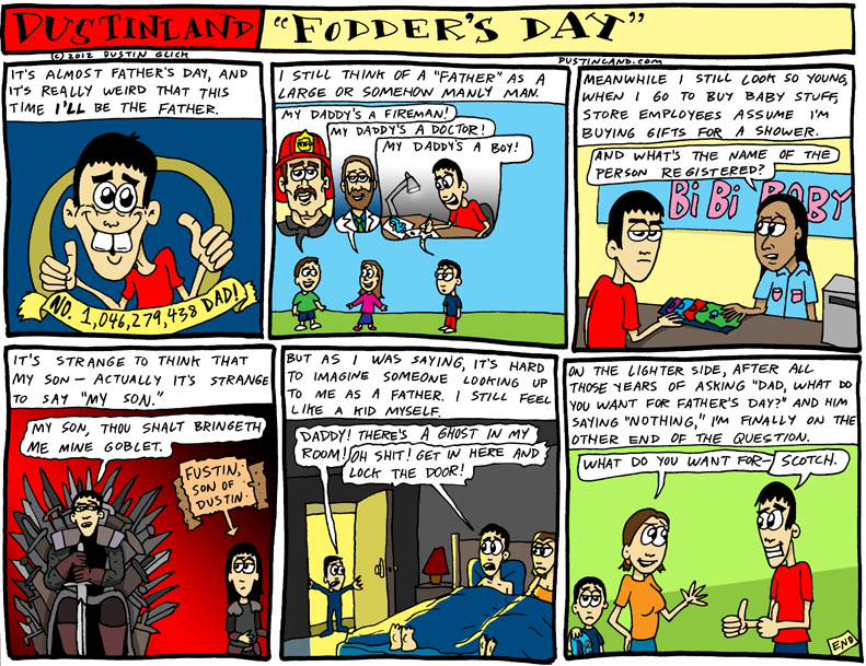 dustinland fathers day comic