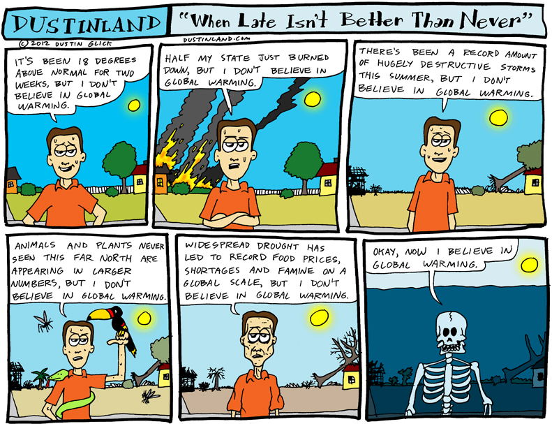 dustinland global warming comic